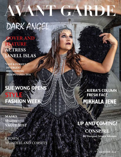 AVANT GARDE Magazine October Issue 2014.