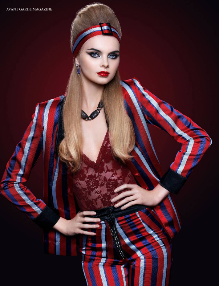 Avant Garde Magazine Model Eleonora Boby