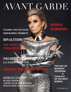 AVANT GARDE Magazine November Issue 2014