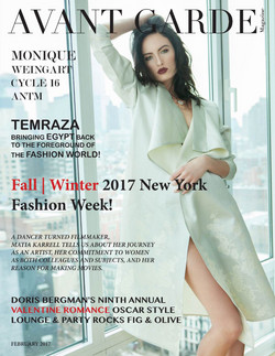 Avant Garde Magazine February Issue 2017 Fashion Week