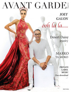 AVANT GARDE Magazine May Issue Las Vegas