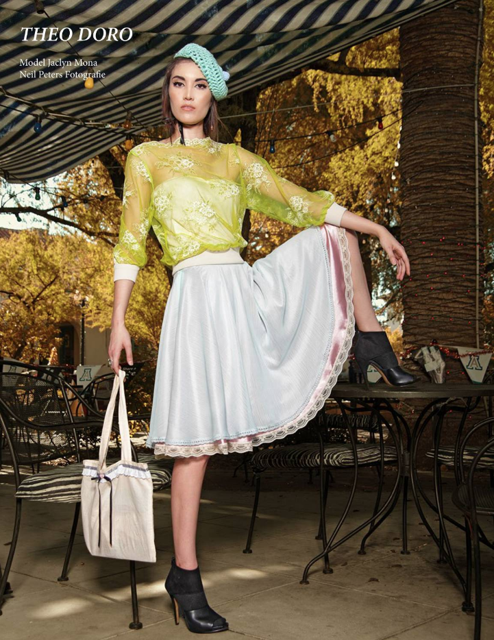 Avant Garde Magazine Model Jaclyn Mona