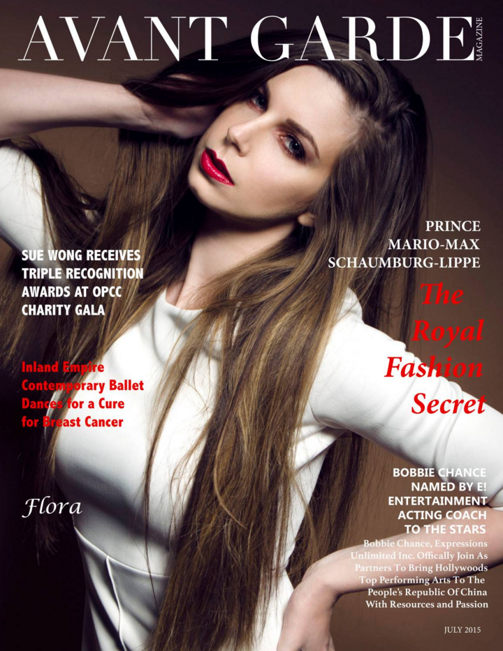Avant Garde Magazine July Issue 2015