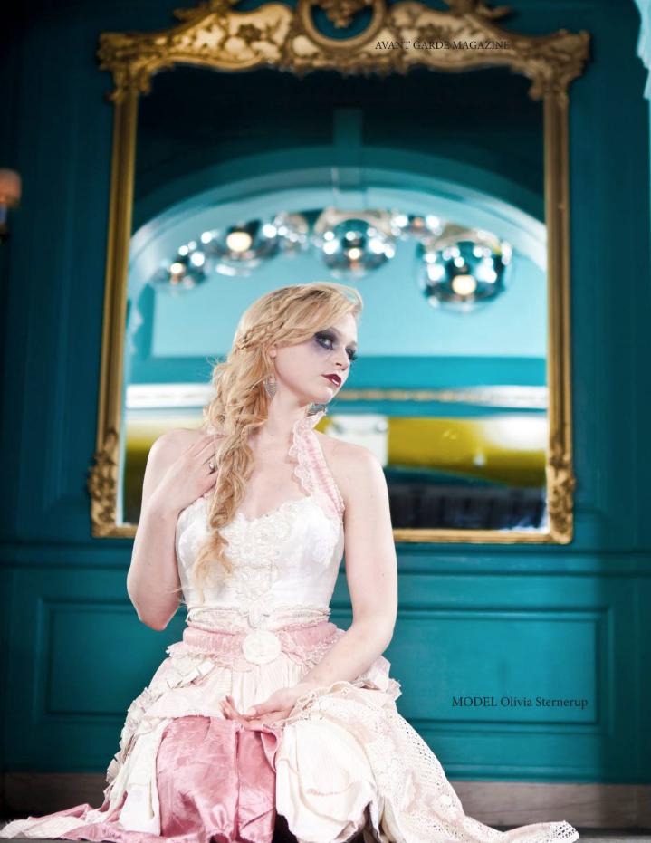 Avant Garde Magazine Model Olivia Sterne