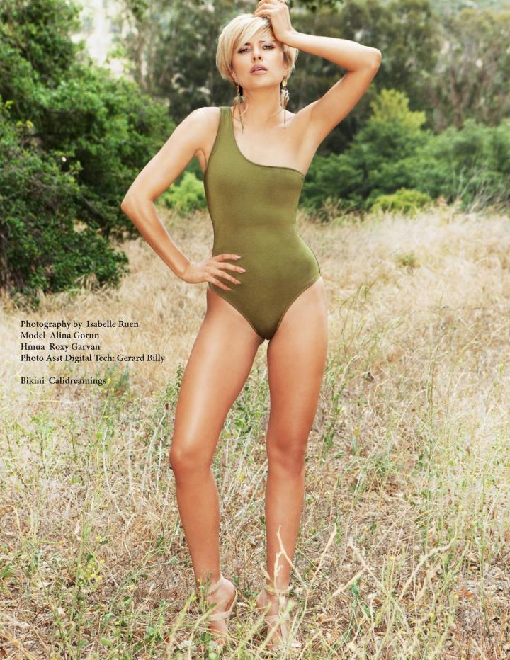 Avant Garde Magazine Models Alina