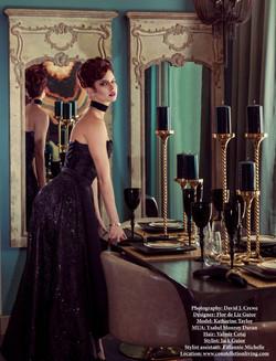 Avant Garde Magazine Model Katharine Tay