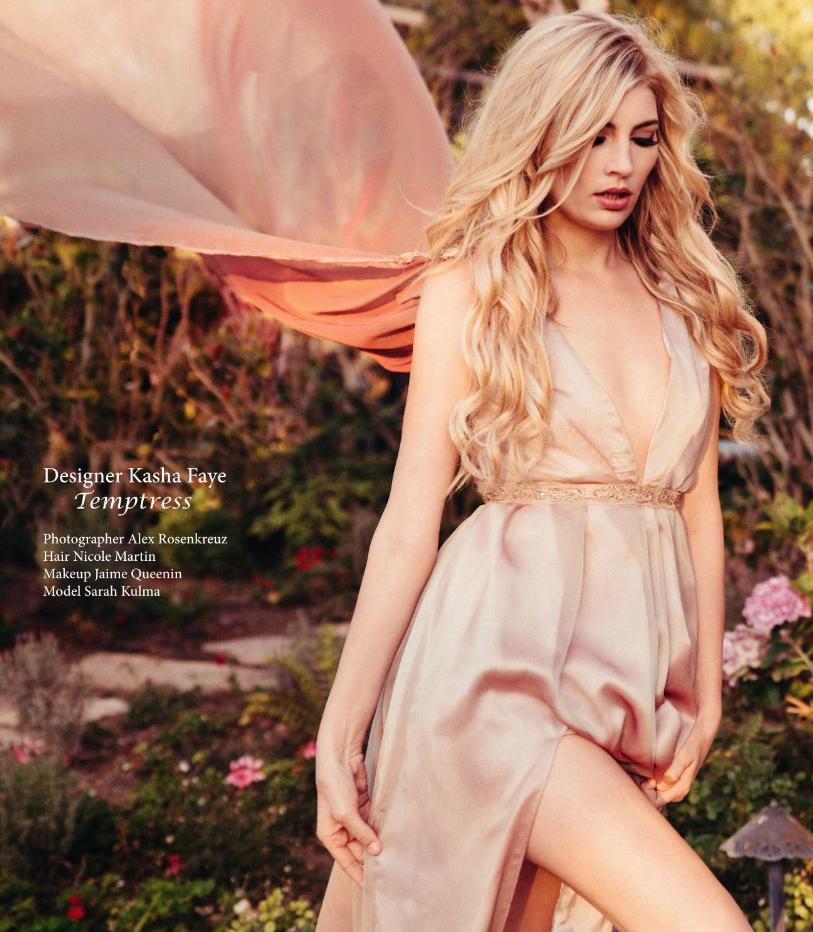 Avant Garde Magazine Models Sarah
