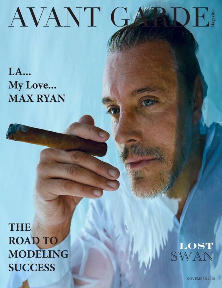 AVANT GARDE Magazine Max Ryan November I