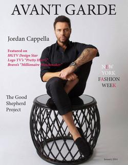 Avant Garde Magazine January Issue 2014.
