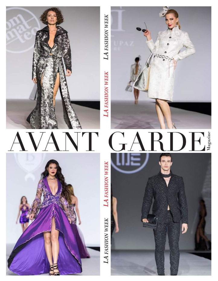 Avant Garde Magazine Special Issue LA Fashion Week