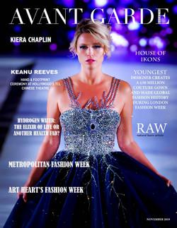Avant Garde Magazine November Issue 2019