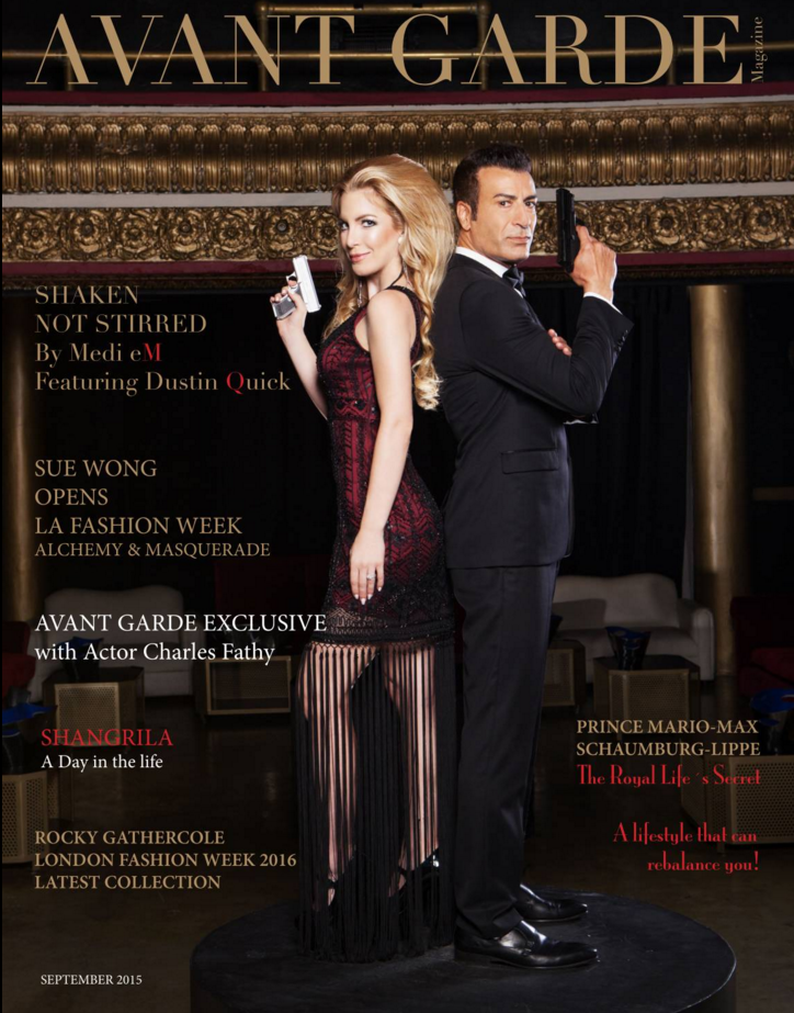 Avant Garde Magazine September Issue 201