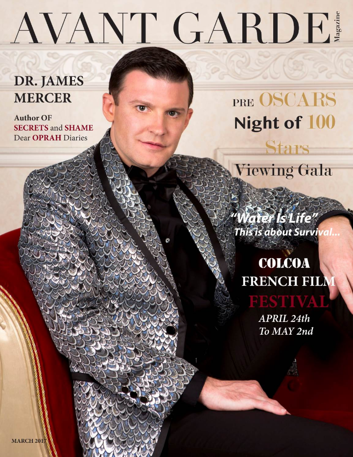 Dr. James Mercer AVANT GARDE Magazine March Issue 2017