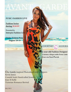 Avant Garde Magazine July Issue 2013