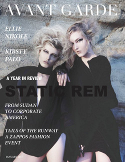 AVANT GARDE Magazine January Issue 2017