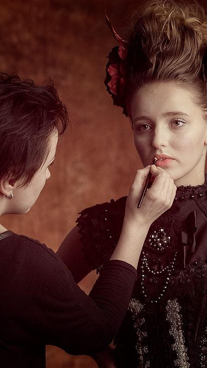 ja: #makeup #hair model: Agnieszka Maj p