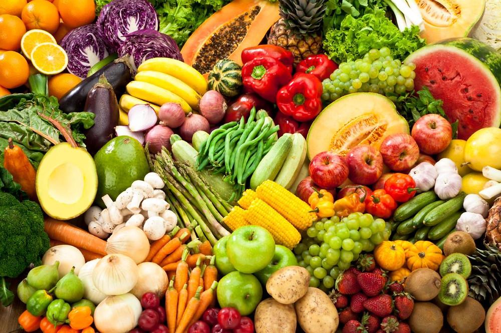 Frutas, verduras, alimentos que fazem bem para a pele