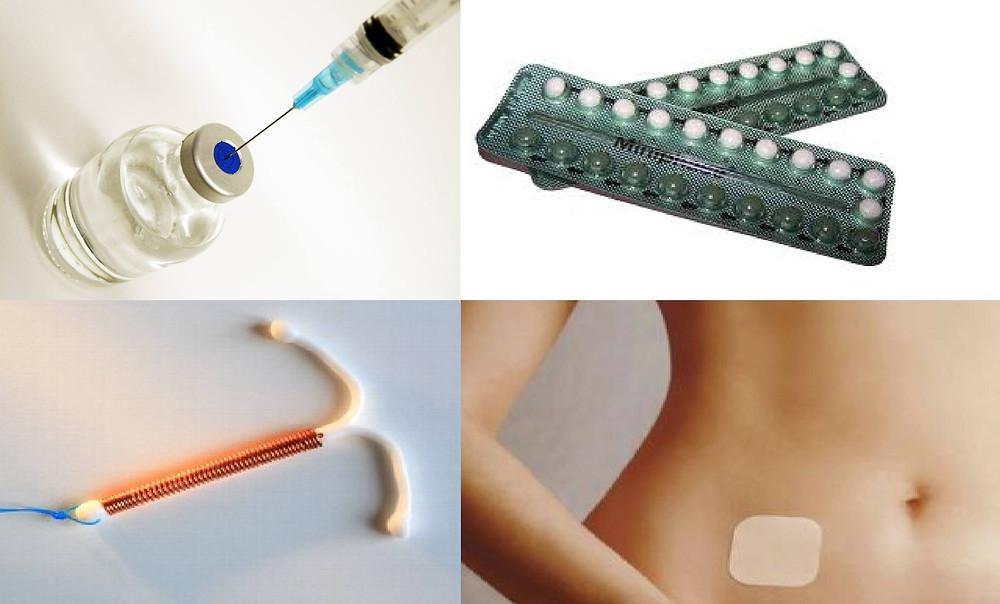 Pílula anticoncepcional e DIU