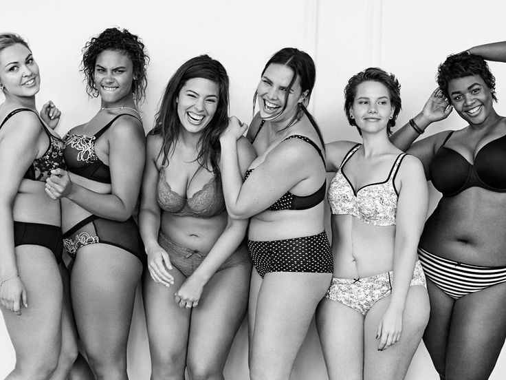 Mulheres que não se limitam aos padrões de beleza