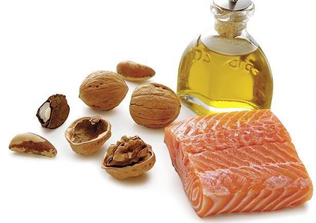 Omega 3 pode ser encontrados em peixes
