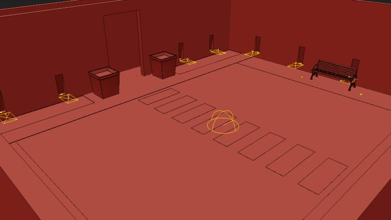 Modelado 3D de proyecto arquitectónico para recorrido virtual 360° en Medellin