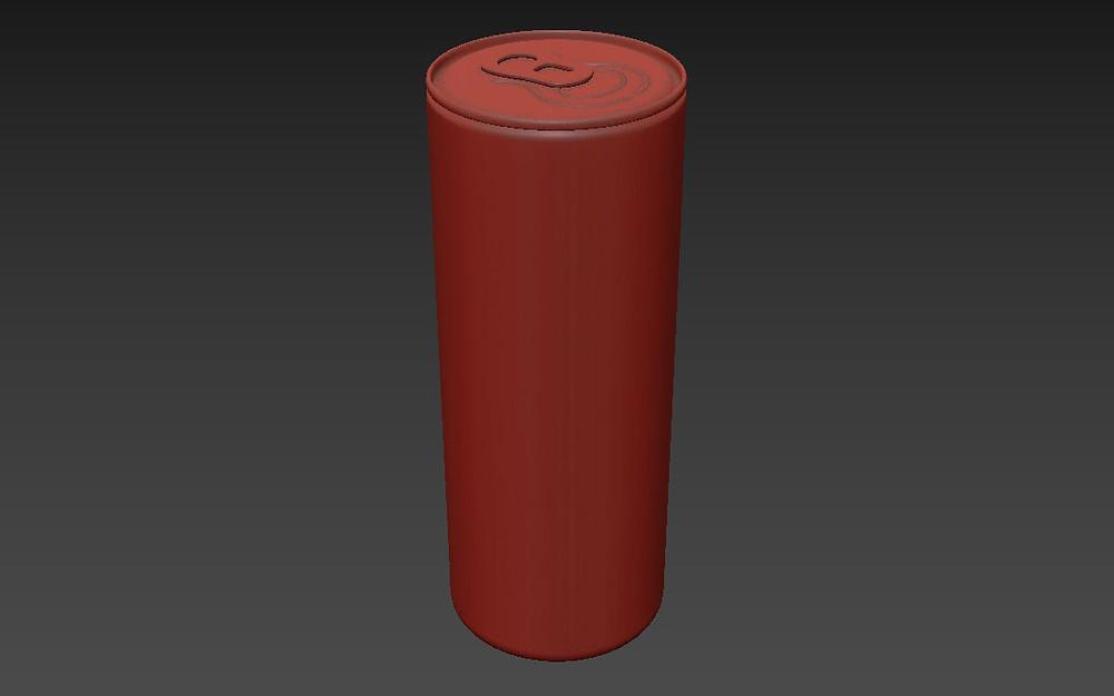 Modelo 3D Bebida en lata