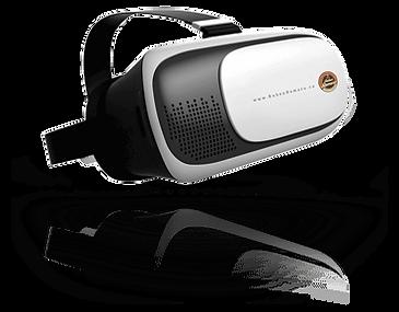 Lentes de realidad virtual para recorridos virtuales