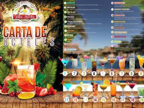 Diseño de menú de bebidas