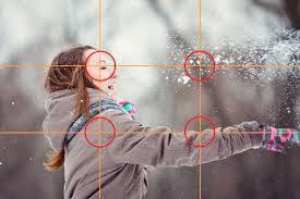 Ley de tercios aplicada a fotografía profesional