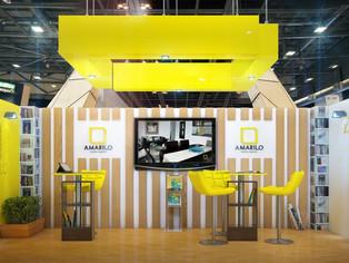 Diseño y Render 3D de Stand de Exposición