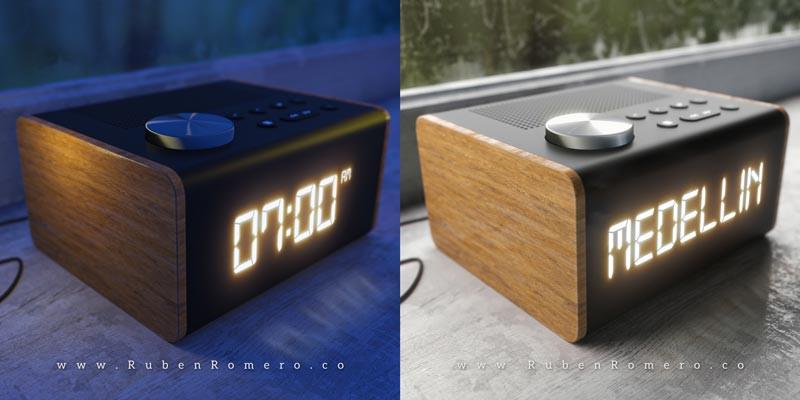 Iluminacion diurna y nocturna fotorrealista para render Arriba Medellin por Ruben Romero Diseño y Animacion