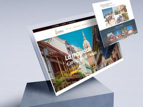 Diseño de Página Web de turismo