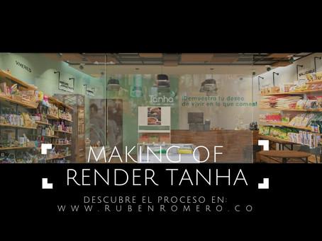 """MAKING OF"" RENDER TIENDA NATURISTA"