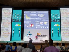 Vista 3D de Escenario de presentación
