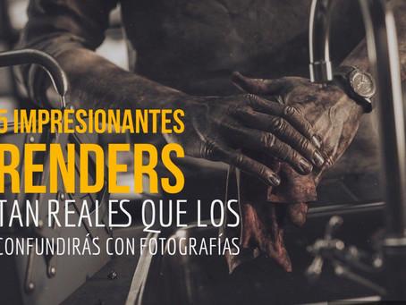 5 RENDERS TAN REALISTAS QUE CREERÁS QUE SON FOTOGRAFÍAS