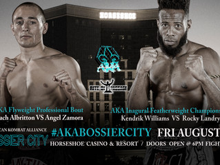 Inaugural AKA Fight features Elite Pro Matches