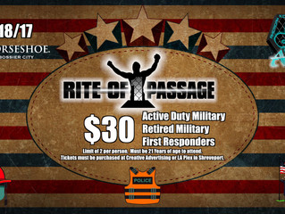 Special Pricing for Military and First Responders