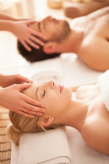 Caucasian couple on a head massage..jpg