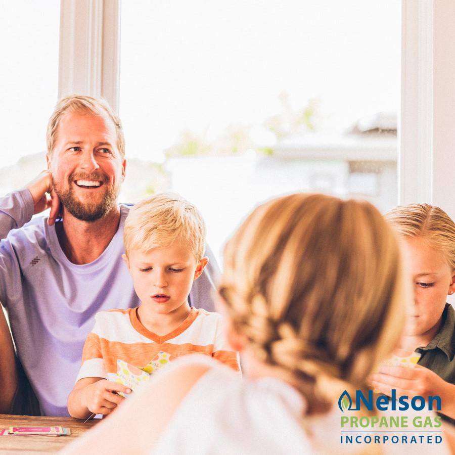 Happy family - Nelson Propane