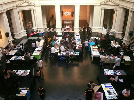 Participando en IMPRESIONANTE Feria de Arte Impreso MAC / Museo de Arte Contemporáneo, Santiago, Chi