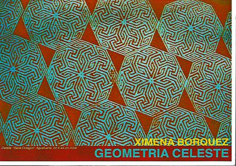 Invitación a la exhibición Geometría Celeste
