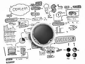 schéma de concept et plan de succès