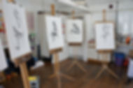 Life drawing in llanover hall art centre cardiff