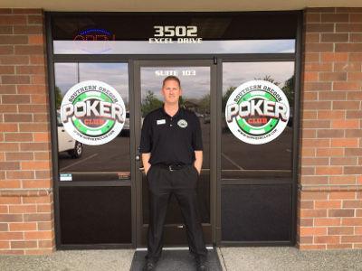 Southern Oregon Poker Club Owner Damien Rennie