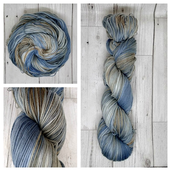 Isle of Skye available in 4ply, DK, Aran, Sock in Wool and Cotton