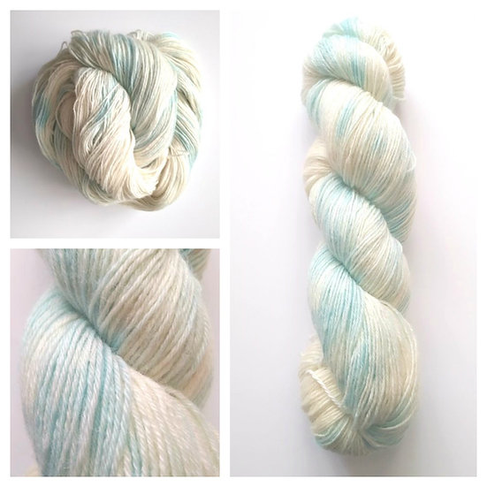 Fluffy Clouds in 4ply, DK, Aran, Sock in Wool and Cotton