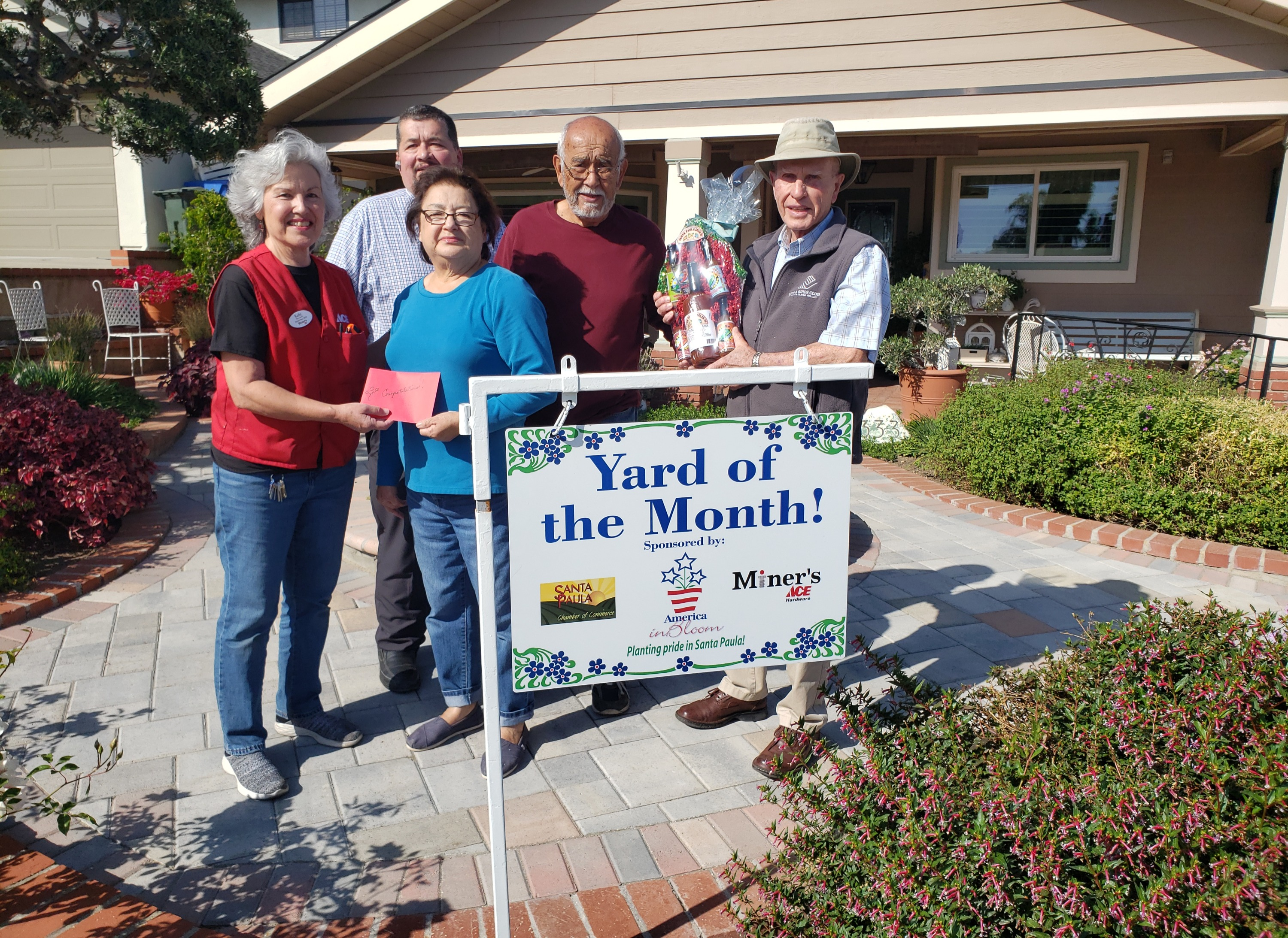 May 2019 Yard of the Month