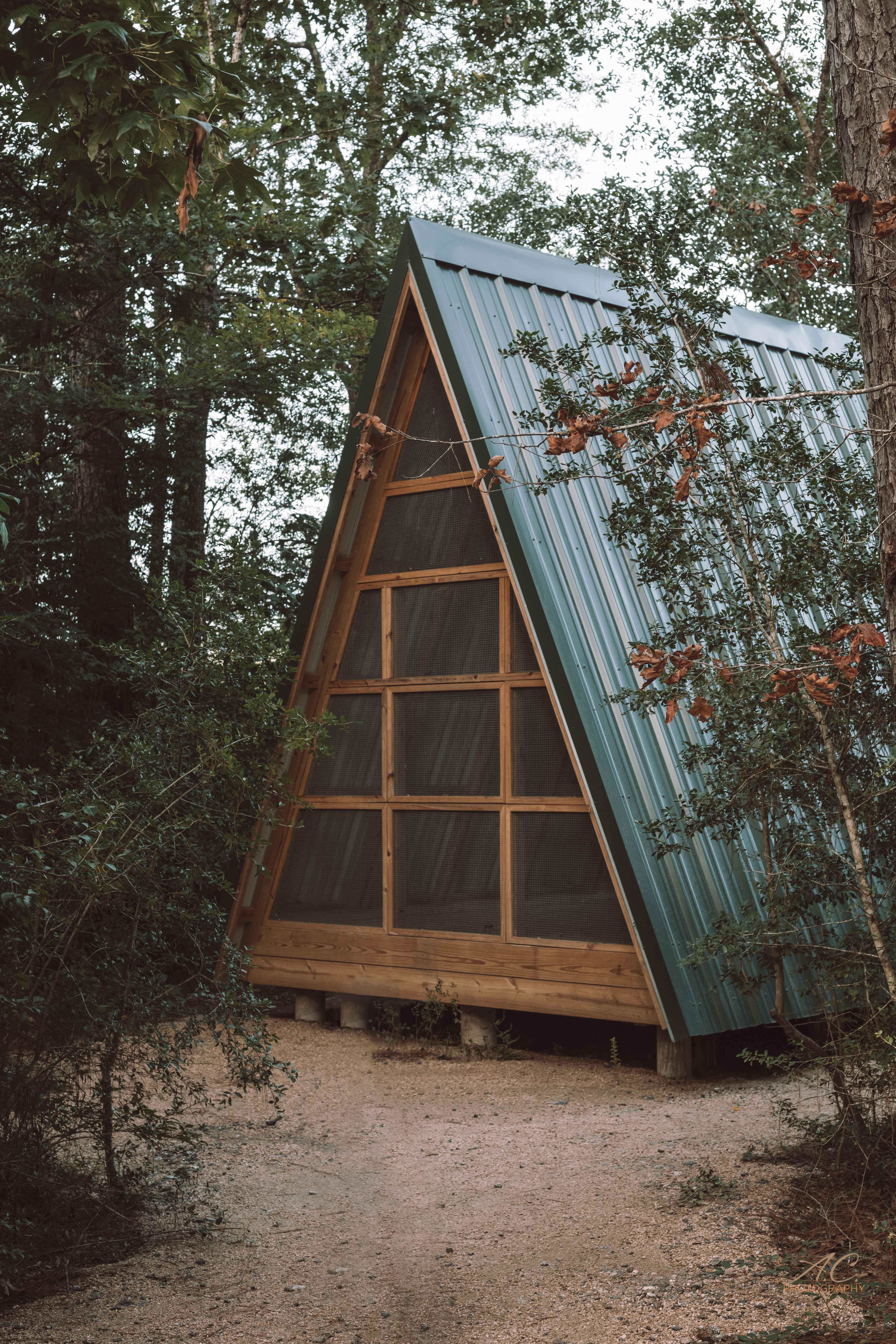 A-Frame Cabin | Lake Houston Wilderness Park | Travel | Outdoor Adventures