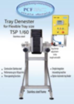 Tray Denester PCF Verpackungsmaschinen
