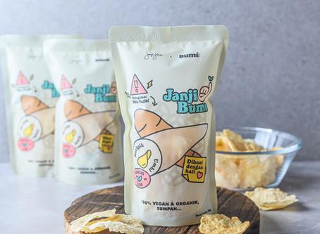 "Press Release - ""Hadirkan ""Janji Bumi"", Janji Jiwa & Bumi Bites keluarkan snack sehat"""